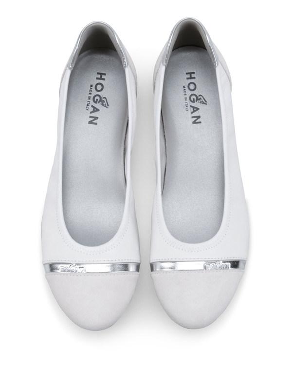HOGAN buy online Ballerinas - Silber