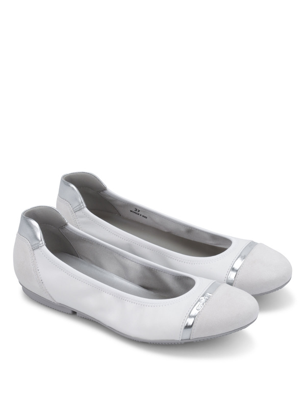 Hogan: flat shoes - Wrap flats