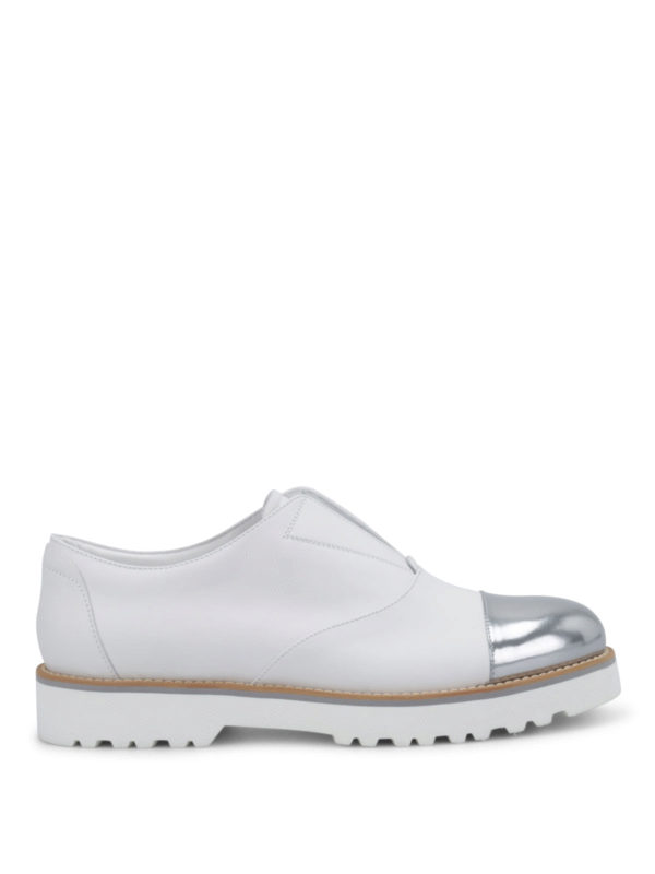 HOGAN: Mokassins und Slippers - Sneaker Fur Damen - Weiß
