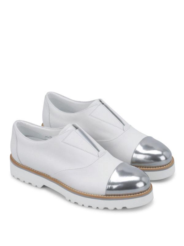 Hogan: Mokassins und Slippers online - Sneaker Fur Damen - Weiß
