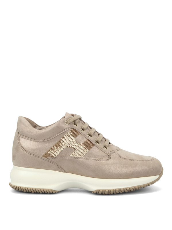 HOGAN: Sneaker online - Sneaker Fur Damen - Rotgold