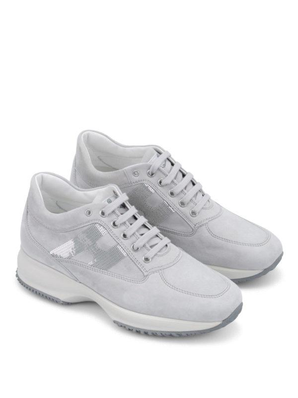 HOGAN: Sneaker online - Sneaker Fur Damen - Hellgrau