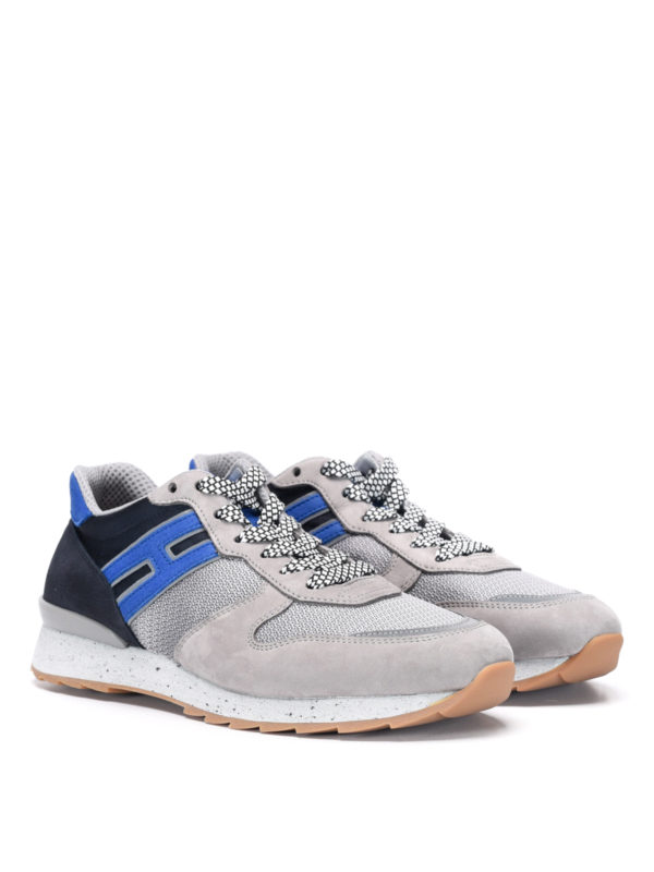 Hogan: trainers online - Trainers with suede inserts