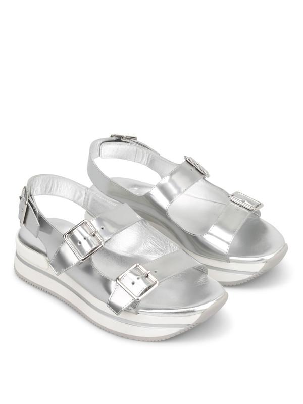 HOGAN: Sandalen - Sandalen Fur Damen - Silber