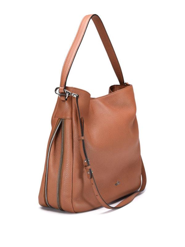 Hogan: shoulder bags online - New Hobo calfskin bag