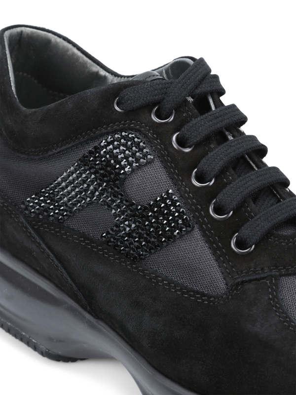 iKRIX HOGAN: Sneaker Fur Damen - Schwarz