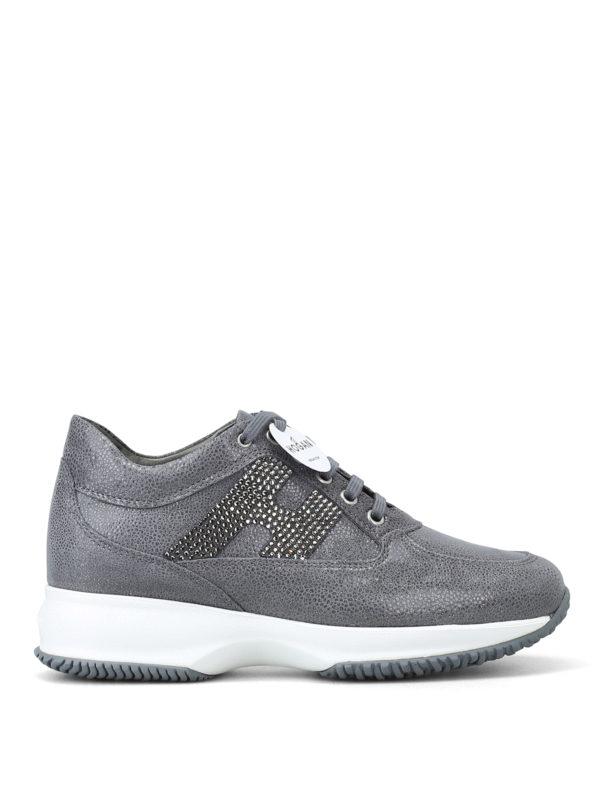 HOGAN: Sneaker - Sneaker - Grau