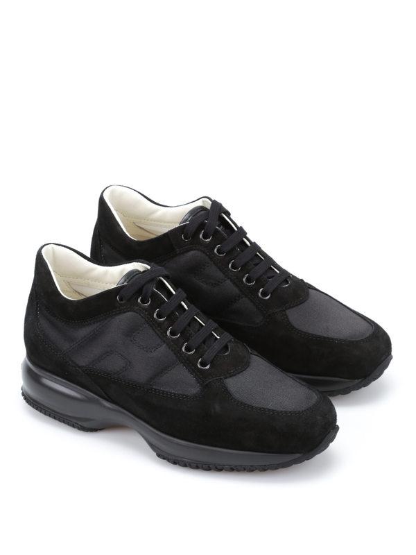 Hogan: Sneaker - Sneaker Fur Damen - Schwarz