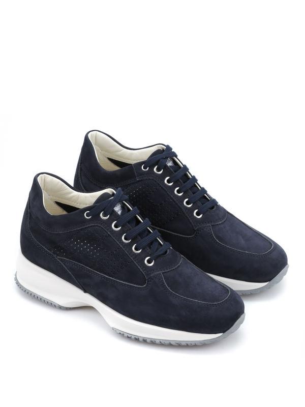 HOGAN: Sneaker - Sneaker Fur Damen - Blau