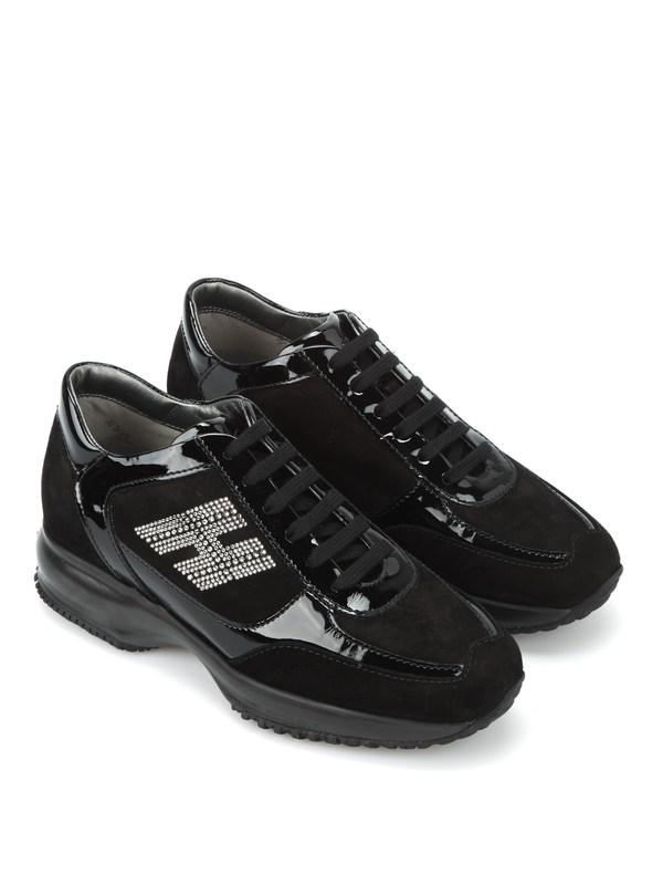 Hogan: Sneaker - Interactive H Strass