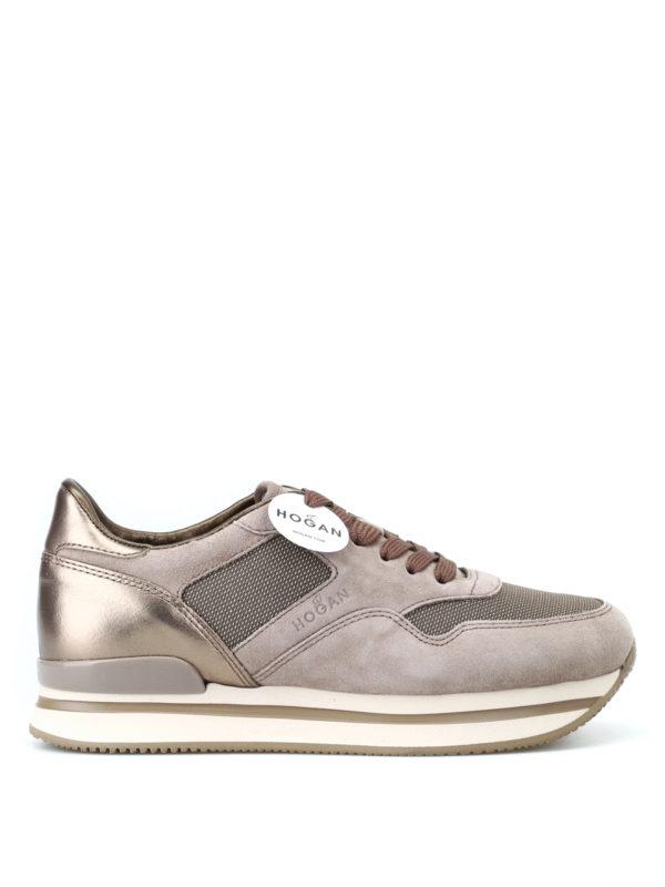HOGAN: Sneaker - Sneaker - Dunkelbeige