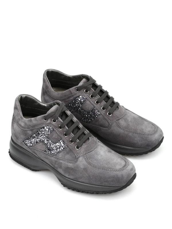 Hogan: Sneaker online - Sneaker Fur Damen - Dunkelgrau