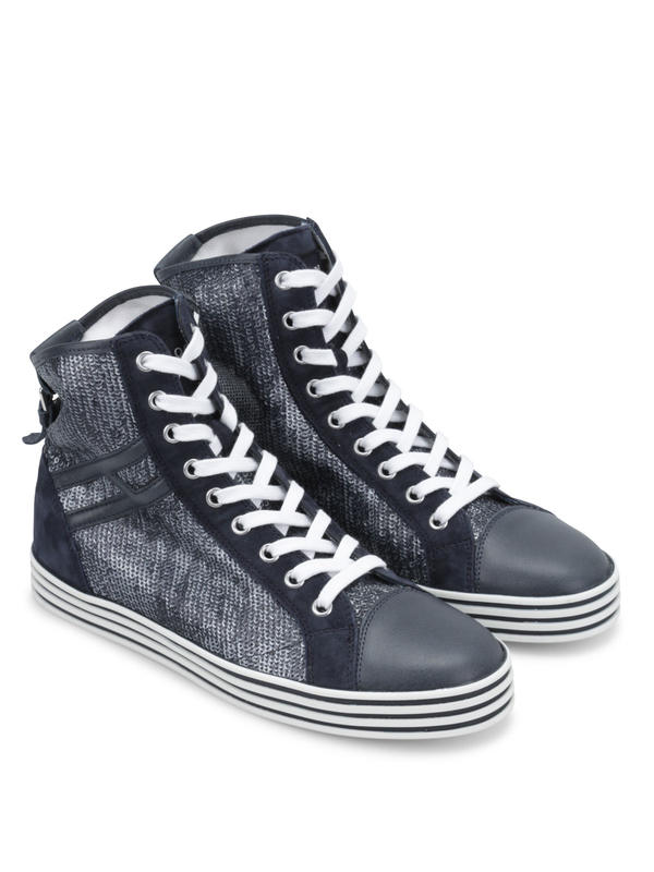 Hogan: trainers - R182 Hi Top