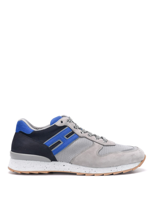 Hogan: trainers - Trainers with suede inserts