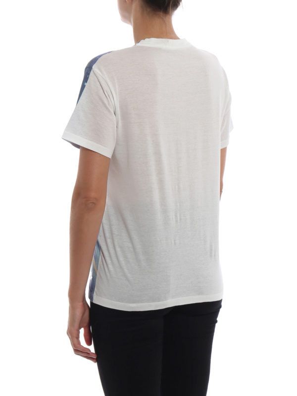 T-Shirt - Hellblau shop online: GOLDEN GOOSE