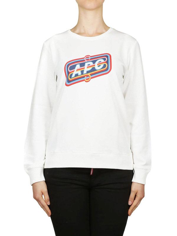 iKRIX A.P.C.: Sweatshirts und Pullover - Sweatshirt - Weiß