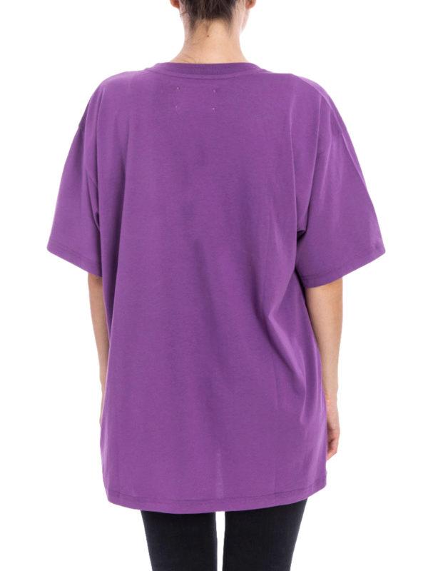 iKRIX Alberta Ferretti: T-shirts - T-Shirt - Lila