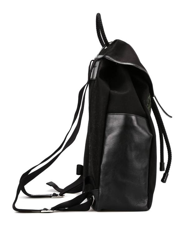 iKRIX ALEXANDER MCQUEEN: backpacks - Skull print backpack