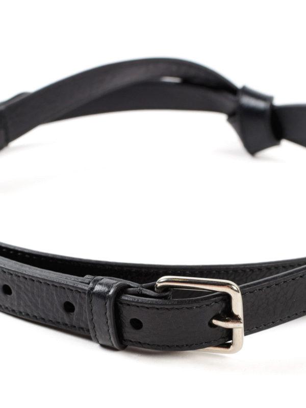 iKRIX Alexander Mcqueen: Cinturones - Cinturón - Negro