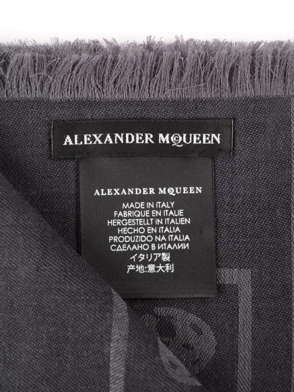 iKRIX Alexander Mcqueen: Schals - Schal - Dunkelgrau