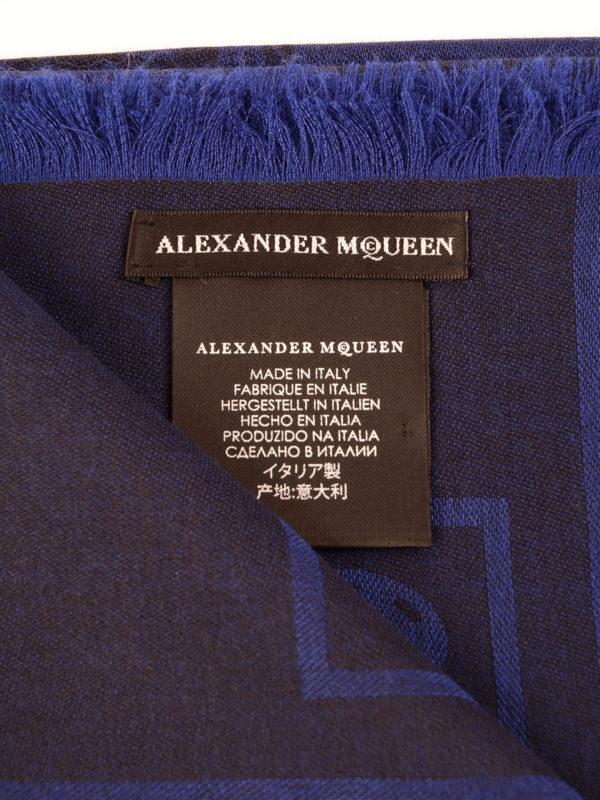 iKRIX Alexander Mcqueen: Schals - Schal - Blau