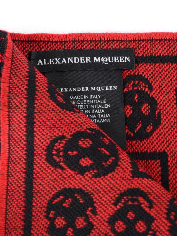 iKRIX ALEXANDER MCQUEEN: Schals - Schal - Rot