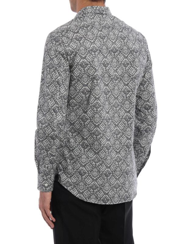 iKRIX Alexander Mcqueen: Hemden - Hemd - Gemustert