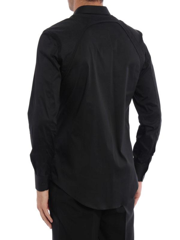 iKRIX Alexander Mcqueen: Hemden - Hemd - Schwarz