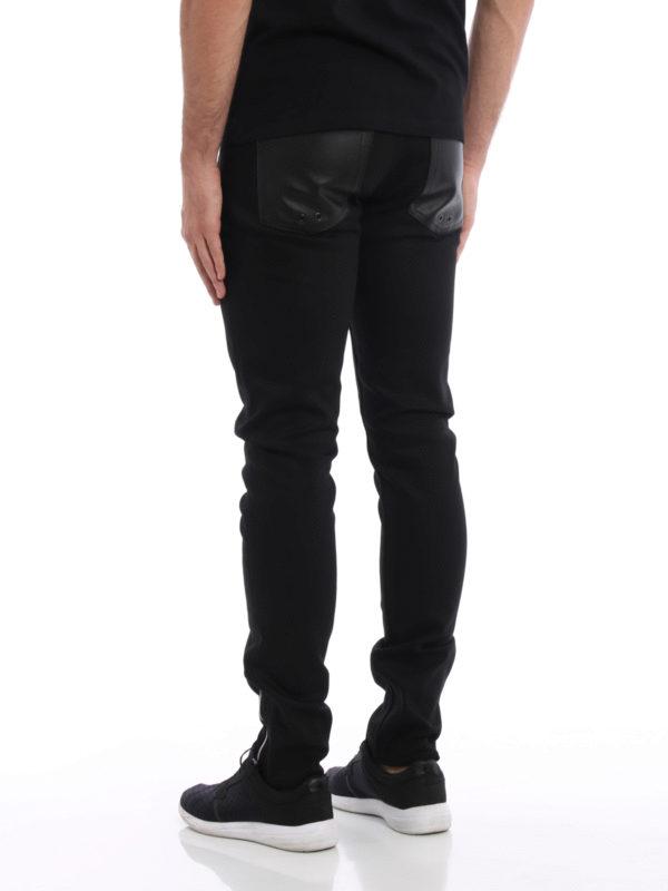 iKRIX Alexander Mcqueen: Straight Leg Jeans - Straight Leg Jeans - Schwarz