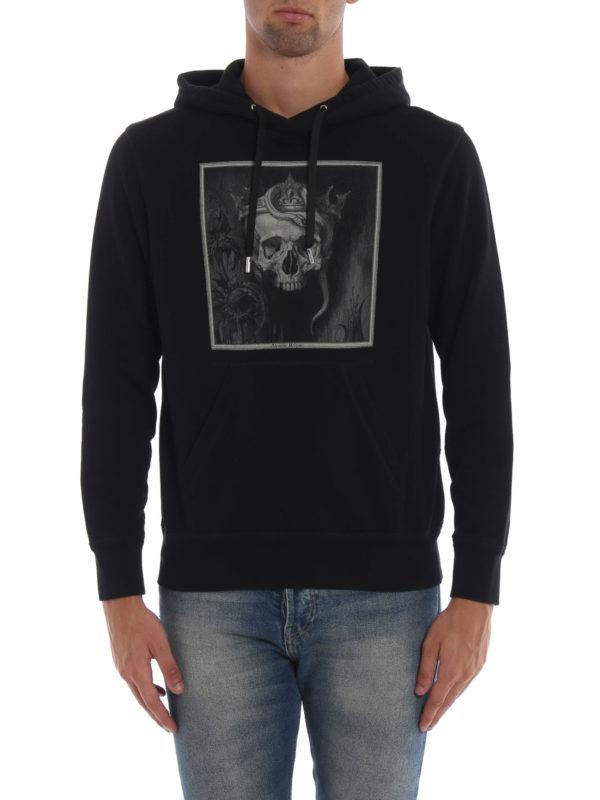 iKRIX ALEXANDER MCQUEEN: Sweatshirts und Pullover - Sweatshirt - Schwarz