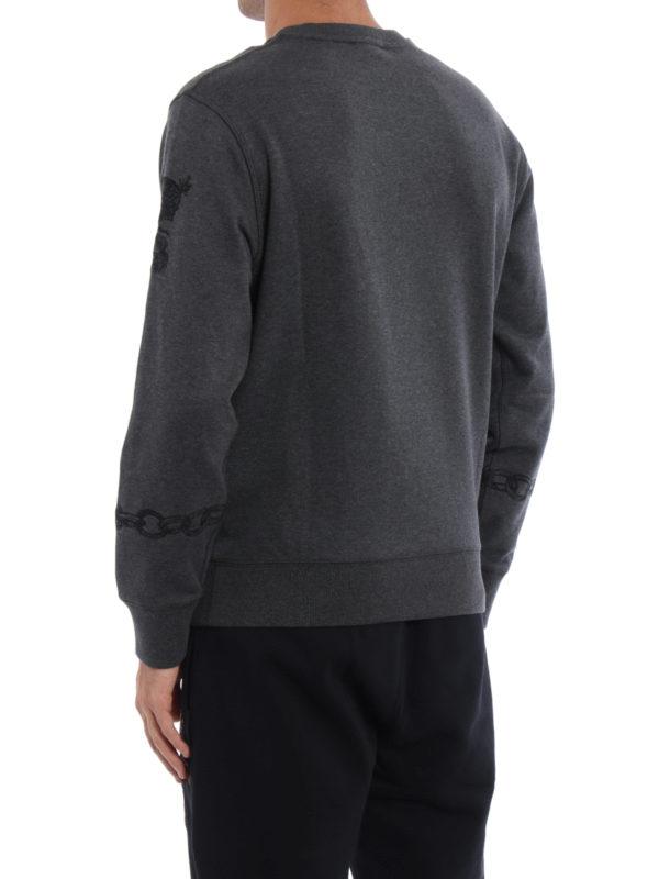 iKRIX ALEXANDER MCQUEEN: Sweatshirts und Pullover - Sweatshirt - Dunkelgrau