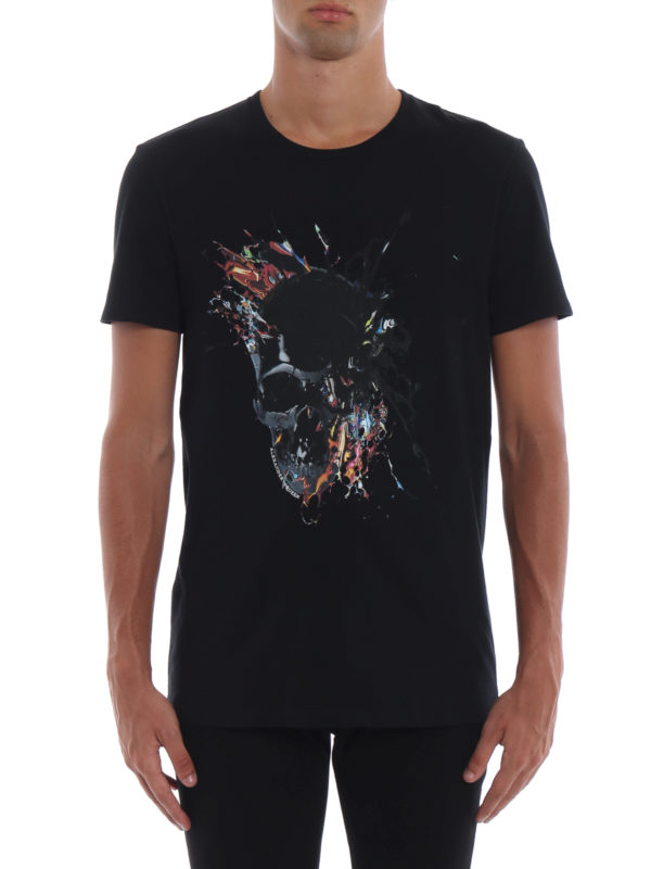 iKRIX ALEXANDER MCQUEEN: T-shirts - T-Shirt - Schwarz