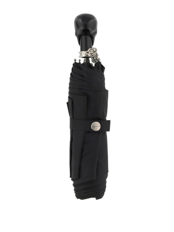 iKRIX ALEXANDER MCQUEEN: umbrellas - Skull umbrella with chain wristlet