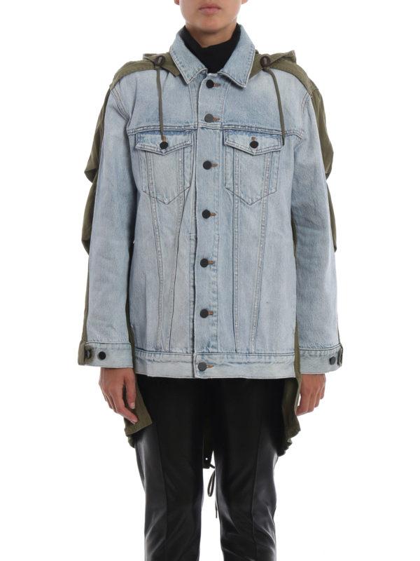 iKRIX ALEXANDER WANG: Jeansjacken - Jeansjacke - Helles Jeansblau