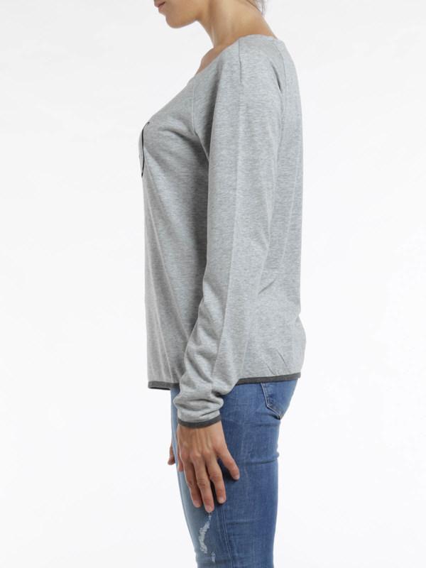 iKRIX Armani Jeans: Logo print top