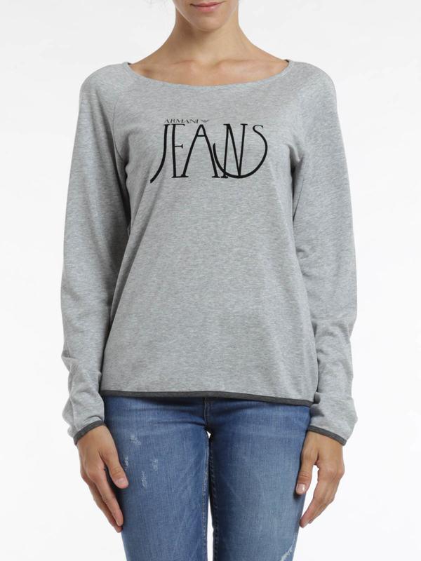 iKRIX Armani Jeans: t-shirts - Logo print top