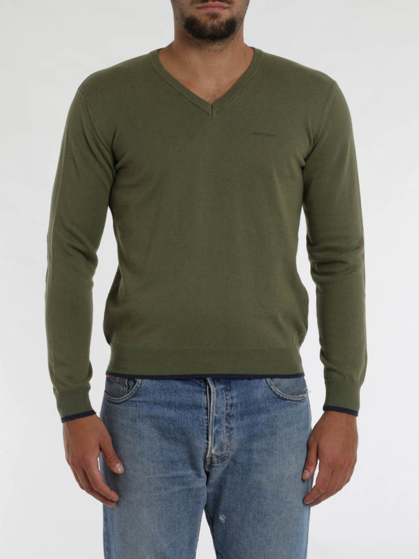 iKRIX Armani Jeans: v necks - Blend cotton top