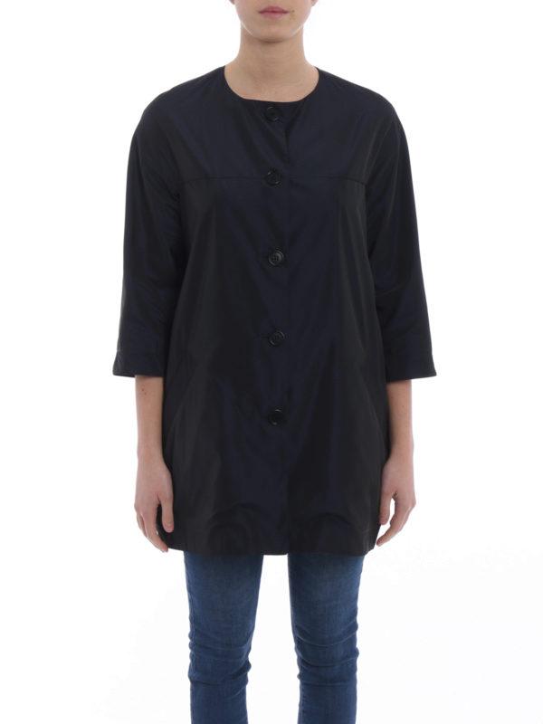 iKRIX ASPESI: short coats - Malaga techno taffeta overcoat