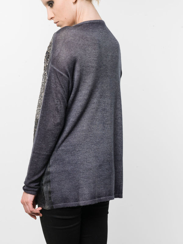 iKRIX Avant Toi: boat necks - Loose fit sequined top