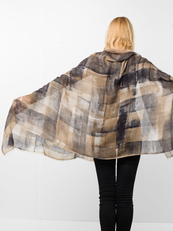 iKRIX Avant Toi: scarves - Geometric patterned scarf