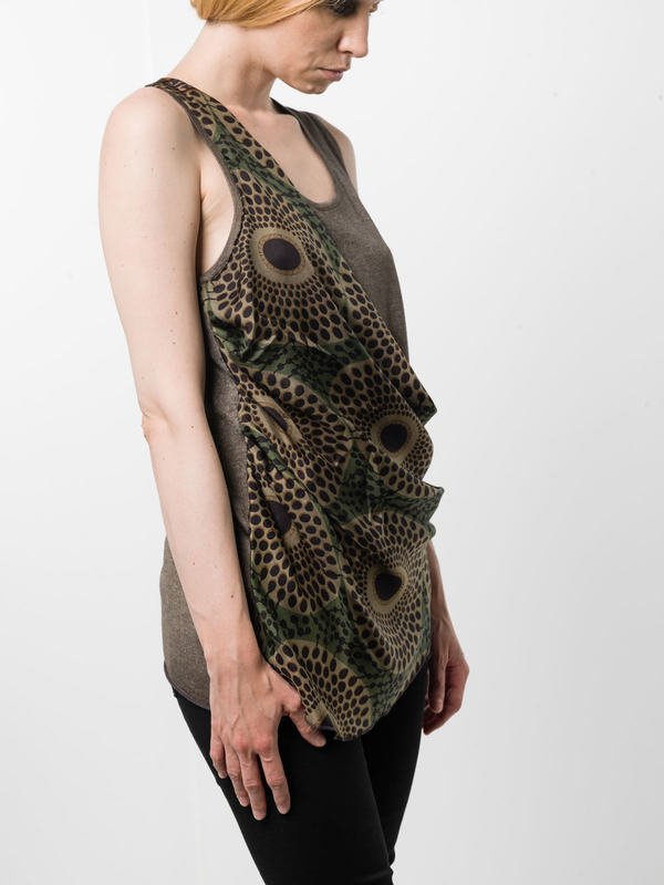 iKRIX AVANT-TOI: Tops & Tank tops - Sleeveless top with foulard