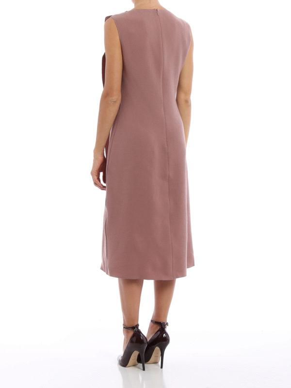 iKRIX Bottega Veneta: Knielange Kleider - Knielanges Kleid - Einfarbig