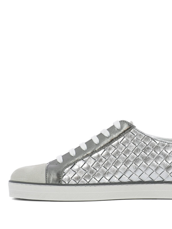 iKRIX Bottega Veneta: Sneaker - Sneaker - Silber