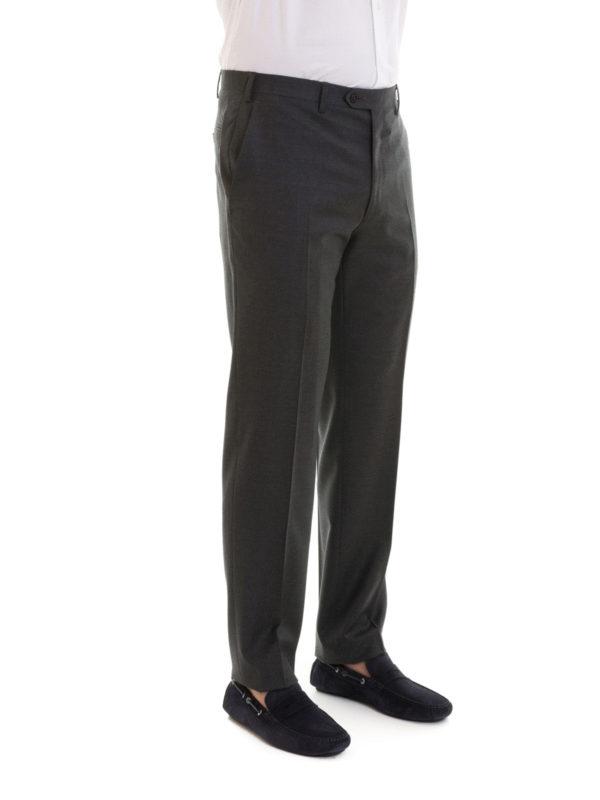iKRIX BRIONI: Maßgeschneiderte und Formale Hosen - Formale Hose - Dunkelgrau