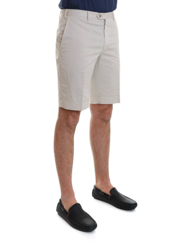 iKRIX Brioni: Trousers Shorts - Shorts with turn-ups