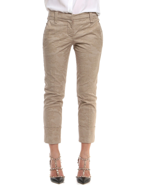 iKRIX Brunello Cucinelli: casual trousers - Brocade pants