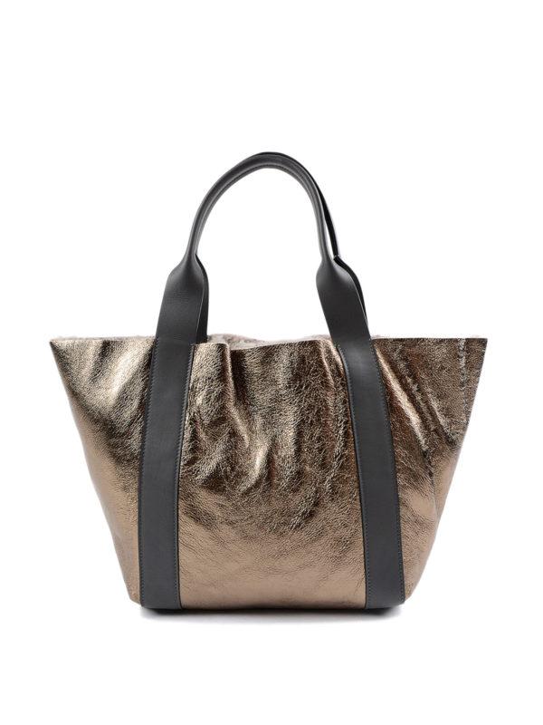 iKRIX Brunello Cucinelli: Handtaschen - Shopper - Einfarbig