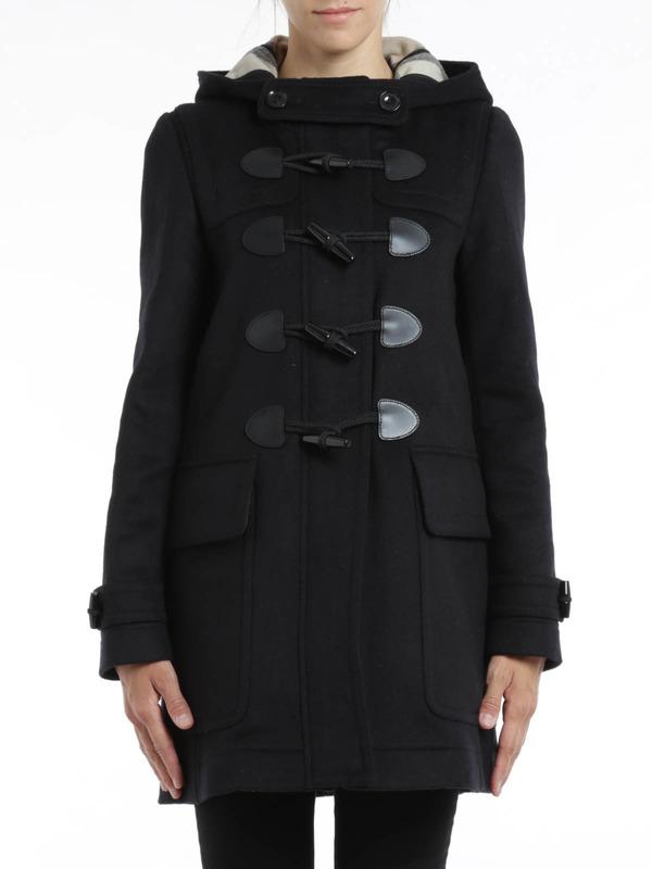 iKRIX Burberry Brit: knee length coats - Finsdale wool duffle coat