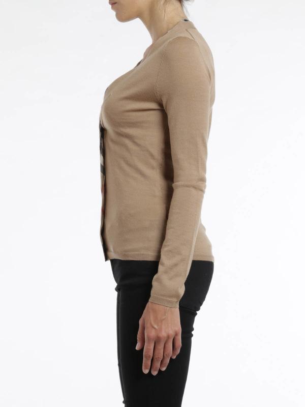 iKRIX Burberry Brit: Merino wool cardigan