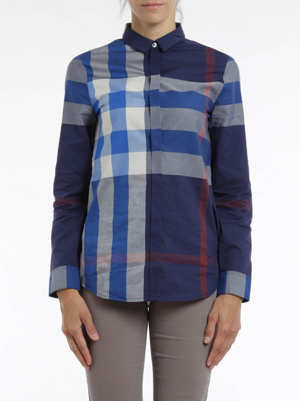 iKRIX Burberry Brit: Hemden - Check print shirt